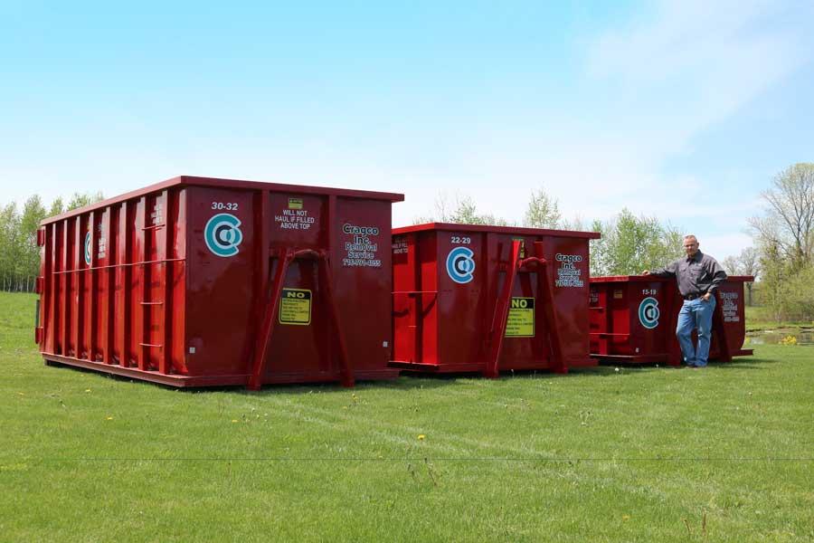 Dumpster Rental Cragco Inc